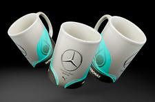 Vintage distressed Mercedes F1 mug carbon style