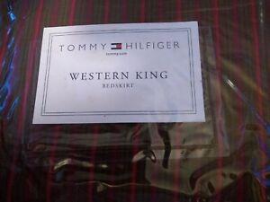 NEW TOMMY HILFIGER Marrakesh Western King Bedskirt