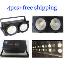 4pcs 200W White And Warm White Led Stage Effect Blinder Light Free Shipping