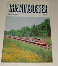 CHEMINS de FER N° 364 de 1984 : L'ETOILE d'ANGERS – Projet TGV Atlantique – PLM…