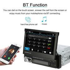 "7"" HD Touchscreen 1 DIN Car GPS Stereo MP5 Player Bluetooth Radio FM/ USB/ SD"