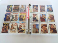 Vintage Roy Rogers Dale Evans Official Card Collection 3 Ring Binder Notebook A