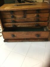 MOORE & WRIGHT ENGINEERS TOOL MAKERS CHEST BOX 7 DRAWER CABINET