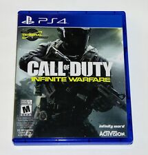 Replacement Case (NO GAME) Call of Duty Infinite Warfare Playstation 4 PS4 Box