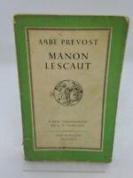 Manon Lescaut A New Translation By L.W. Tancock The Penguin Classics