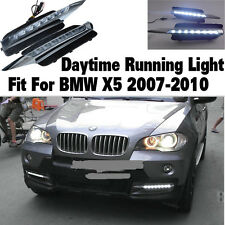 2Pcs LED DRL BMW E70 X5 Daytime Running Light DRL Fit For BMW X5 2007-2010 08 09