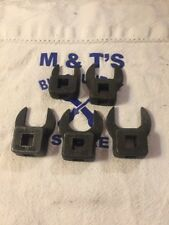 """Snap-on Tools USA 3/8"""" Drive 5pc Open End Crowfoot Wrench Set AN-8506"""