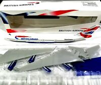 Aviation Gifts British Airways 1/250 scale Boeing 747-400 Plastic model Wooster