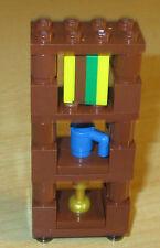 Lego City - Friends - Elves - Tolles Hochregal in neu braun