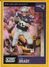 2020 Score Gold Zone #24 Tom Brady - New England Patroits #/50