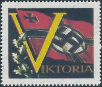 Artist Stamp Replica Label Germany 02 WWII Wehrmacht Axis of Victory MNH