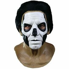 Mens Ghost Band Nameless Ghouls Papa III 3 Emeritus Latex Halloween Costume Mask