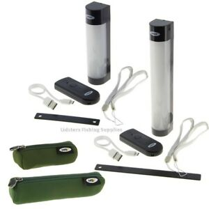 NGT Carp Fishing Bivvy Light With Power Bank Function Phone Small Large Case