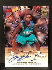 BARON DAVIS 1999-00 Topps ON Card AUTOGRAPH Pack Pulled Rare HTF!! Hornets