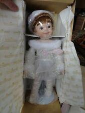 New 1994 Ashton-Drake My Little Ballerina Porcelain Doll w/Stand & Certificate