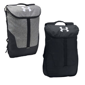 Under Armour Expandable Sackpack Backpack - 2 Colours - (TGAC36) RRP: £29.99