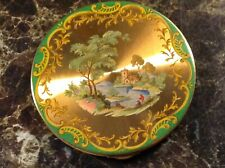 Beautiful Vintage Vogue Vanities Compact. Hand Painted