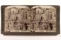 Italia Messina La Camera Da Commerce Il Terremoto Da 1909 Foto Stereo