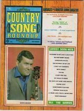 Country Song Roundup  Vol 21, No 124, Nov. 1969 Don Gibson Cover Photo
