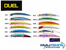 ARTIFICIALE PESCA SPINNING SPIGOLA DUEL HARDCORE LIPLESS MINNOW 120F FLOATING