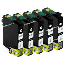 5x INK T133 133 Black for Epson NX130 NX125 NX230 NX420 NX430 WF320 325 Non-OEM