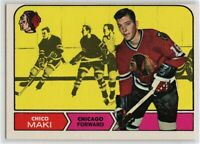 1968-69 Topps #17 Chico Maki EX-NM SET BREAK (112219-21)