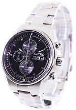 Seiko Solar Titanium Chronograph SSC367 SSC367P1 SSC367P Mens Watch