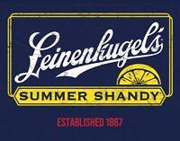 Leinenkuglel's Summer Shandy Retro Logo Beer Advertising Décor Metal Tin Sign