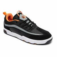DC Skateboard Shoes Legacy 98 Slim S Black/Orange/Grey - BRAND NEW!