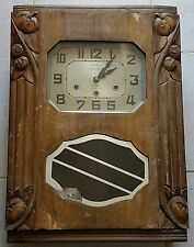 ANCIENNE HORLOGE CARILLON 8TIGES 8 MARTEAUX VERITABLE WESTMINSTER MADE IN FRANCE