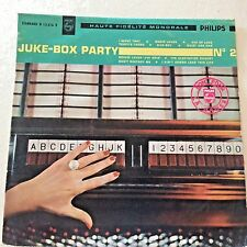 JAZZ LP- JUKE-BOX -Party No.2 -PHILIPS France Original 10'' RARE