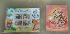 Winnie The Pooh Turks & Caicos Limited Edition Disney Postage Stamp 2 Sheet Lot