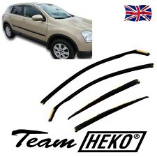 Rain Repellent Wind Deflector NISSAN QASHQAI 5 Door AB 2007 4teilig