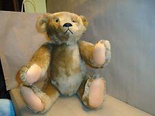 """Steiff Classic/Jointed Teddy Bear, Khaki gold, Modern 1970-Now, 23"""""""