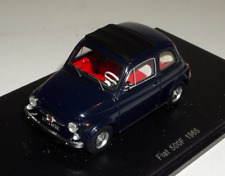 1/43 Spark  Fiat 500 F from 1965 in Black  S2692
