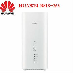 UNLOCKED Huawei 4G CPE B818-263 Wireless WIFI Router 3 Prime LTE Cat19 Gigabit