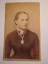 Stuttgart - Frau Sofie Brenner geb. Stöckle - Portrait / CDV