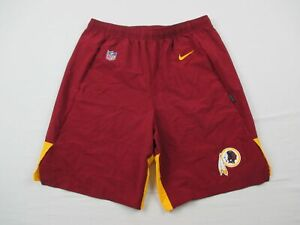 Washington Redskins Nike Shorts Men's Maroon Dri-Fit Used Multiple Sizes