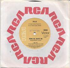 "GILLA - BEND ME SHAPE ME - 7"" 45 VINYL RECORD - 1978"