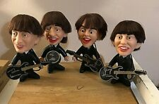 VINTAGE 1964 REMCO BEATLES DOLL, COMPLETE SET WITH INSTRUMENTS