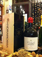 Vino Rosso (Red Wine) Nero d'Avola DOC Cartagho 2014 Mandrarossa Magnum (1,5 L.)