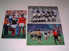 Scotland V Zaire Coupe du monde 1974 FINALE Lot de 3 photos