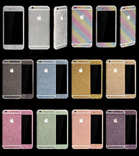 Luxury Glitter Bling Full Body Decal Sticker For iphone 12Pro Max XS XR 6 7 8 11