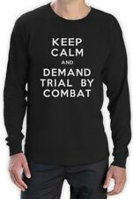 Keep Calm and Demand Trial By Combat Long Sleeve T-Shirt Thrones New tyrion Fan