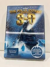 The Polar Express (Dvd, 2008, 2-Disc Set, 3-D) New Sealed with Slipcase!