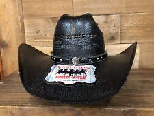 Cowboy Men's Straw Hat Black