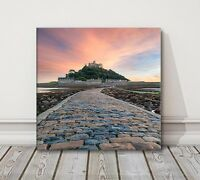 St Michaels Mount near Penzance in Cornwall canvas print wall art various sizes
