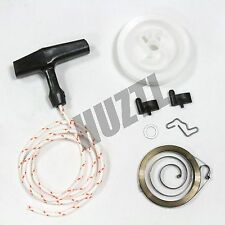 STIHL MS290 MS390 RECOIL / REWIND SPRING STARTER PULLEY HANDLE ROPE ROTOR PAWL