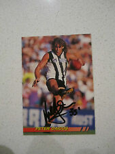 COLLINGWOOD MAGPIES - PETER DAICOS SIGNED SIGNATURE 1994 SELECT CARD