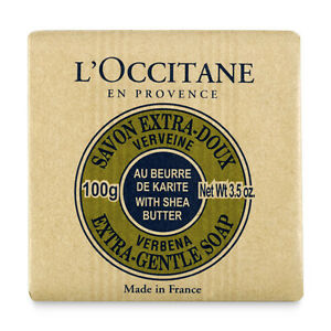 L'Occitane Shea Butter Extra Gentle Soap - Verbena - 3.5oz/100g